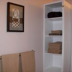 Bathroom Shelving | Cozy Nest Executive Guest House, Melville SK
